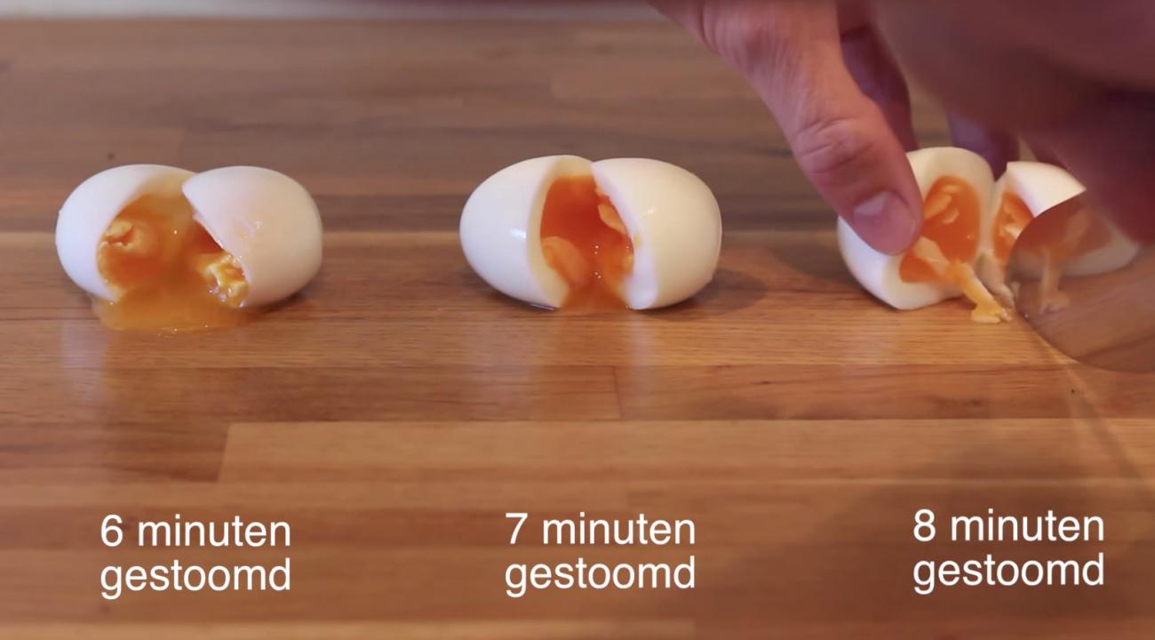 Een perfect 'gekookt' eitje