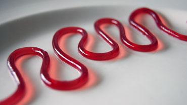 Rode Port Spaghetti