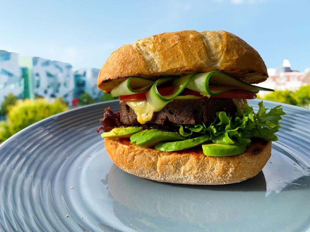 100% Vegan Burger